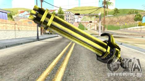 Minigun from Redneck Kentucky для GTA San Andreas