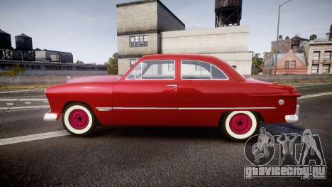 Ford Custom Tudor 1949 для GTA 4 вид слева