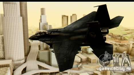 F-15 Razgriz для GTA San Andreas вид слева