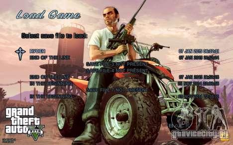 GTA 5 Меню для GTA San Andreas второй скриншот