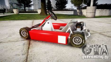 Go Kart для GTA 4 вид слева