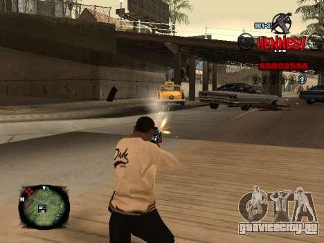 C-HUD Hennesy для GTA San Andreas