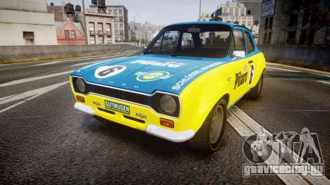 Ford Escort RS1600 PJ6 для GTA 4