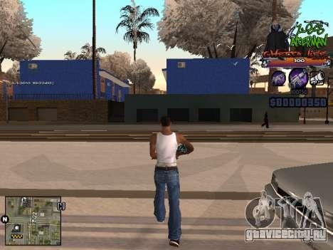 C-HUD Les Alterman для GTA San Andreas