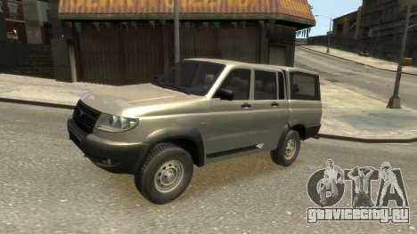 UAZ Patriot Pickup v.2.0 для GTA 4 вид изнутри