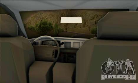 Ford Crown Victoria NY Taxi для GTA San Andreas вид справа