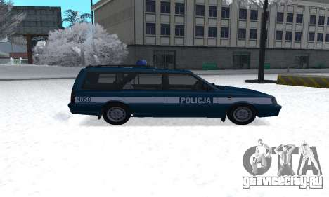 Daewoo-FSO Polonez Kombi 1.6 GSI Police 2000 для GTA San Andreas вид слева