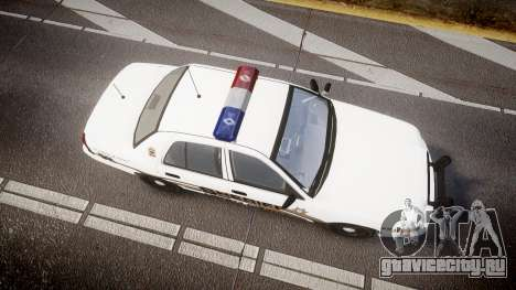 Ford Crown Victoria LCSO [ELS] MX7000 для GTA 4 вид справа