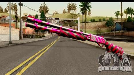 Red Tiger Shotgun для GTA San Andreas