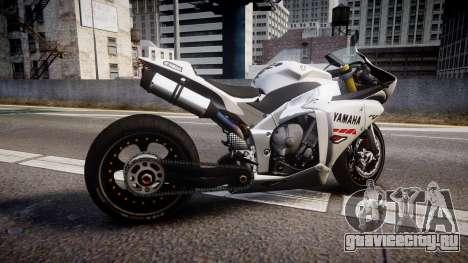 Yamaha YZF-R1 Custom PJ1 для GTA 4 вид слева