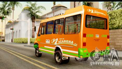 Dodge Ram Microbus для GTA San Andreas вид слева