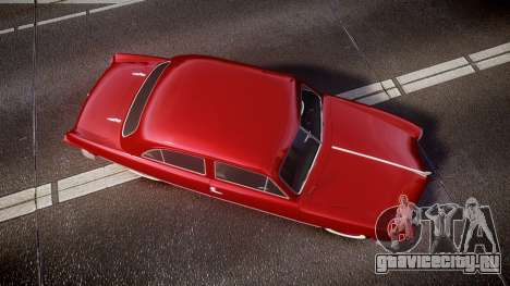 Ford Custom Tudor 1949 для GTA 4 вид справа