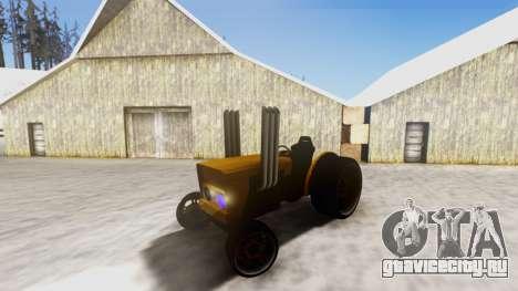 Tractor Kor4 v2 для GTA San Andreas