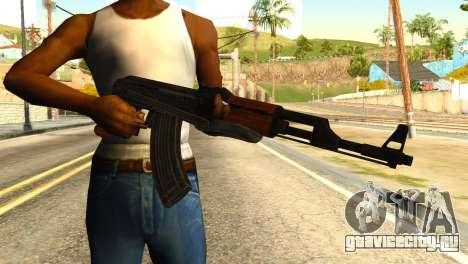 AK47 from Global Ops: Commando Libya для GTA San Andreas третий скриншот