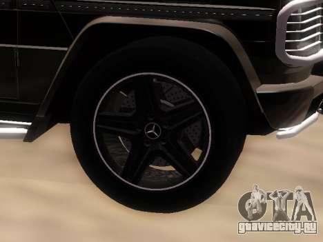 Mercedes-Benz G55 AMG для GTA San Andreas