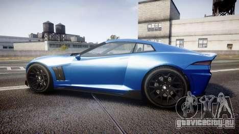GTA V Invetero Coquette для GTA 4 вид слева