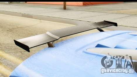 GTA 5 Obey 9F Cabrio для GTA San Andreas вид сзади