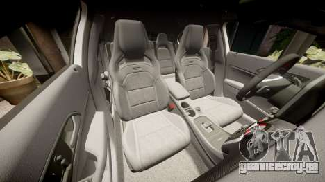 Mersedes-Benz A45 AMG PJs1 для GTA 4 вид сверху