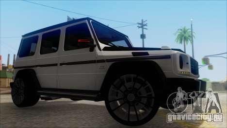 Mersedes-Benz G500 Brabus для GTA San Andreas вид справа