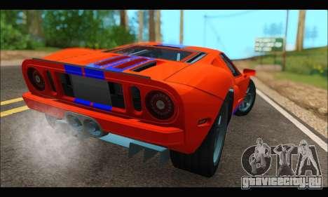 Ford GT 2006 для GTA San Andreas вид слева