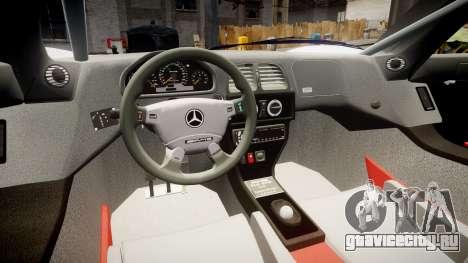 Mercedes-Benz CLK LM 1998 PJ35 для GTA 4 вид сзади