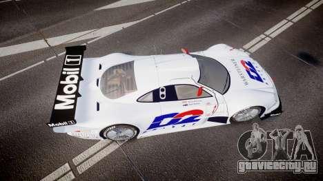 Mercedes-Benz CLK LM 1998 PJ1 для GTA 4 вид справа