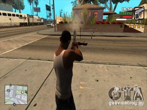 Mobile C-HUD для GTA San Andreas третий скриншот