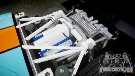 Ford GT 2005 [EPM] Gulf для GTA 4 вид изнутри