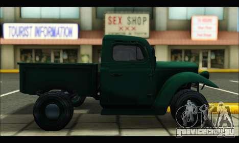 Rat Loader (GTA V) для GTA San Andreas вид слева