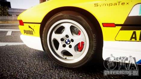 BMW E31 850CSi 1995 [EPM] E-Post Brief для GTA 4 вид сзади