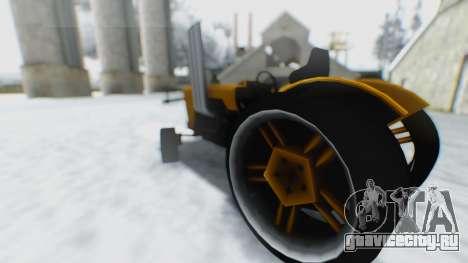 Tractor Kor4 для GTA San Andreas вид справа