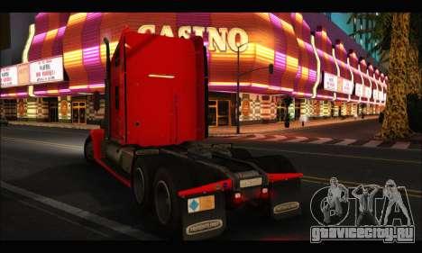 Freightliner Coronado v.2 для GTA San Andreas вид слева