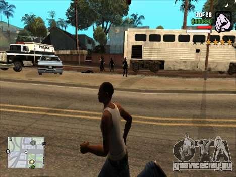 Mobile C-HUD для GTA San Andreas