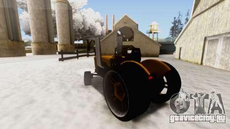 Tractor Kor4 v2 для GTA San Andreas вид слева
