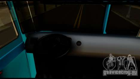 Chevrolet Bus для GTA San Andreas вид сзади