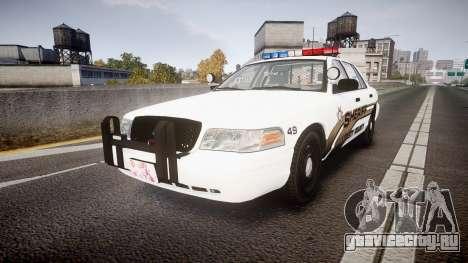 Ford Crown Victoria LCSO [ELS] Edge для GTA 4