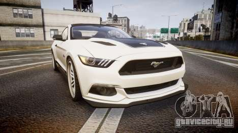 Ford Mustang GT 2015 SPEEDCREED для GTA 4