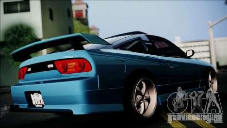 Nissan 180SX для GTA San Andreas вид слева