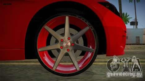 BMW 335i для GTA San Andreas вид сзади слева