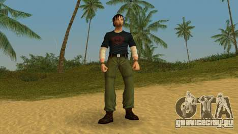 Kurtis Trent v.2 для GTA Vice City