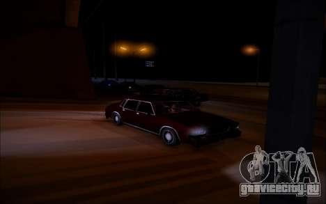 ENBSeries Wade Coronos для GTA San Andreas четвёртый скриншот