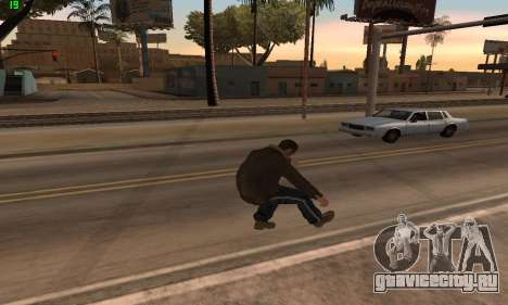 Анимации из GTA 4 для GTA San Andreas