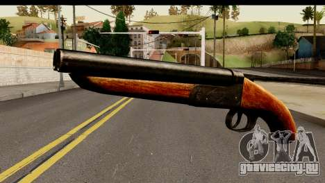 Sawnoff Shotgun HD для GTA San Andreas