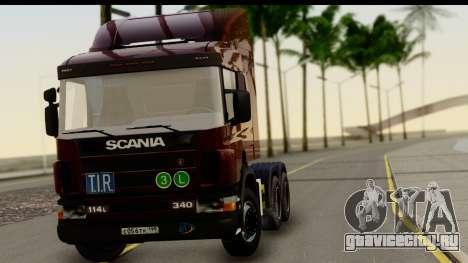 Scania P340 для GTA San Andreas вид сзади слева
