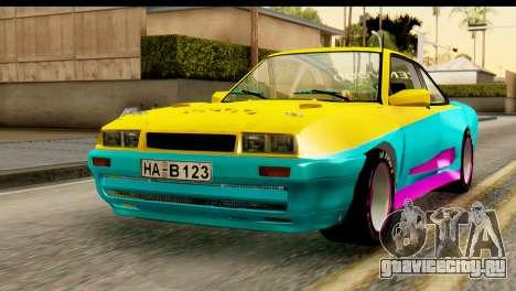 Opel Manta для GTA San Andreas