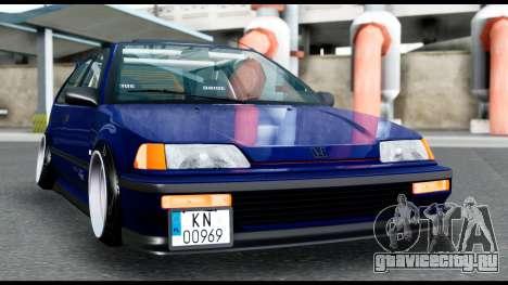 Honda Civic 4gen JDM для GTA San Andreas вид справа