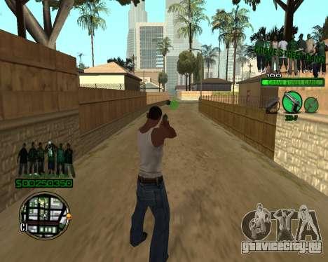 C-HUD Grove для GTA San Andreas