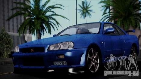Nissan Skyline GT-R V Spec II 2002 для GTA San Andreas