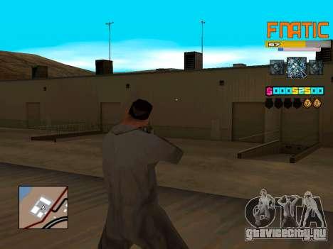 C-HUD Fnatic для GTA San Andreas второй скриншот