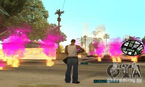New Pink Effects для GTA San Andreas пятый скриншот